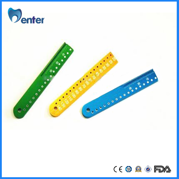 B047 aluminium used for dental gutta pointed or other tube Test board
