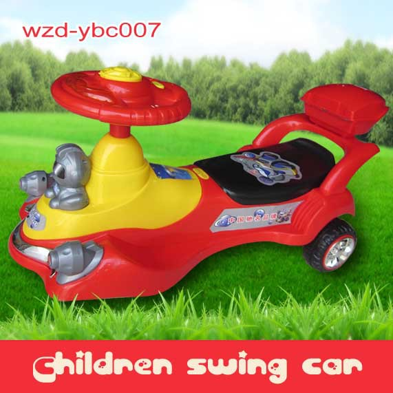 china supplier swing car/ twist car for baby