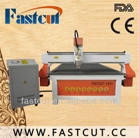 fastcut 1613 wave boards sandstones corian ABS mini desktop oiling lubrication system inveter spindle cnc router machine