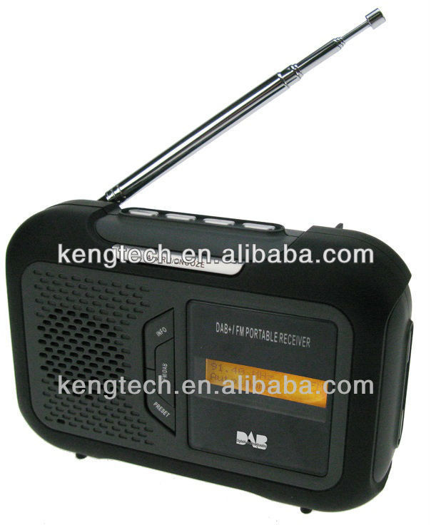 Portable DAB+/ DAB/ DMB-Audio/ FM & RDS