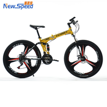 "China wholesale 2016 cheap bicycle 26"" wheels steel 21speed fork mountain bike"