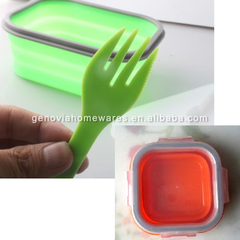 New design silicone mess container made of silicone