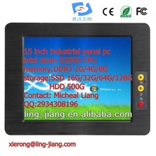 fanless low power consumption industrial tablet computer With 15inch Touch Screen (PPC-150C) ,with DC input, wide pressure 6~30V