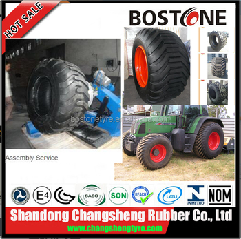 CHINA bkt quality floatation tyres 600/55-22.5 Manufacturer