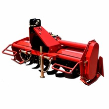 Micro tractor agricultural implement 3 point PTO rotary tiller for farm tractor