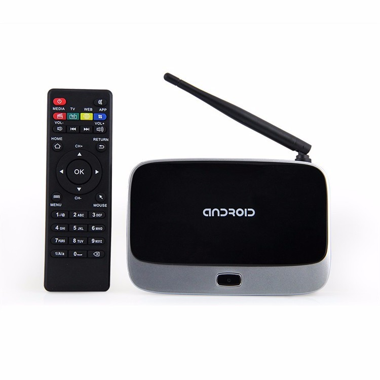 CS918 Quad Core Android 4.2.2 Bluetooth Smart TV Set Box WiFi 1080P Media Player 2G+16G android tv