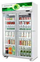 Beverage drink cooler/high quality single door cooler