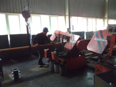 Material Sawing