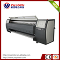 Large format digital ink jet printer with 3 way intelligent heater