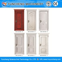 Simple Design Unique Cheap Modern Interior Wooden Door