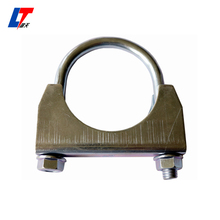 Genuine Torca Torctite Stainless Steel Lap Joint Band Exhaust u Clamp/high quality Torctite Buttle Joint Band Clamp