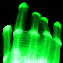 12 colors Hot party supplies Halloween flashing gloves led light up gloves
