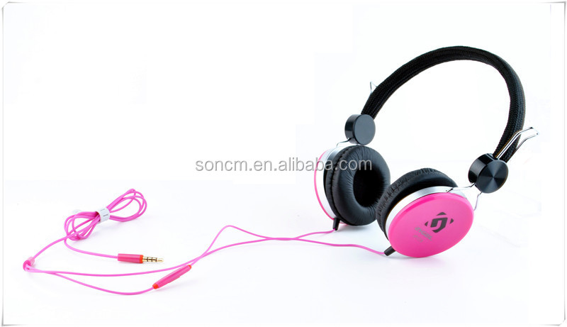 OEM/ODM Brand Children Colorful Headphones Wholesale for kids girls