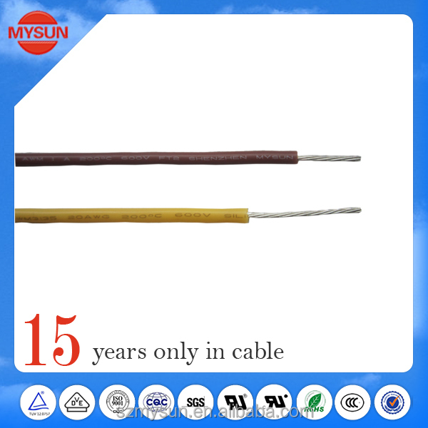 High voltage flexible cable silicone cable UL3239 3kv
