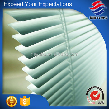 high quality 25mm aluminum slats fashionable for horizontal venetian blinds