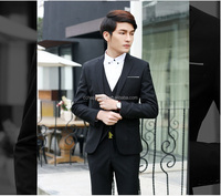Men 7 colors new arrival mens suits with pants men groom tuxedos uniforms for office
