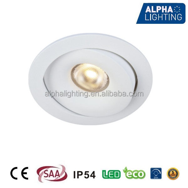 IP54 gimable 7W CITIZEN COB LED <strong>Downlight</strong>