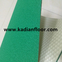 BWF approved professional badminton floor mat used for indoor sports floor