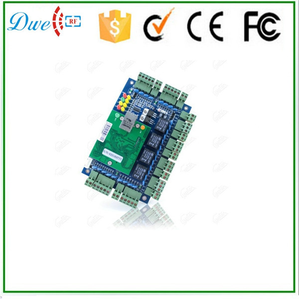4 door RFID access control board tcp ip with free software
