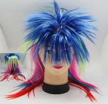 2015 Cheapest Football fans wig,Party wig export overruns
