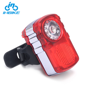 INBIKE Top Quality Battery LED Safety Bicycle Rear Lamp