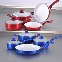 7PC Aluminum Induction Cookware Set Non