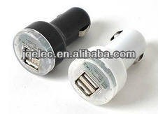 dual usb car charger 5v 2a 3a for mobile phone, tablet PC, iPad,Iphone
