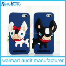 Factory Direct Sale New Silicone Eco-Friendly And Durable dog Silicone Phone Case, disney approval factory