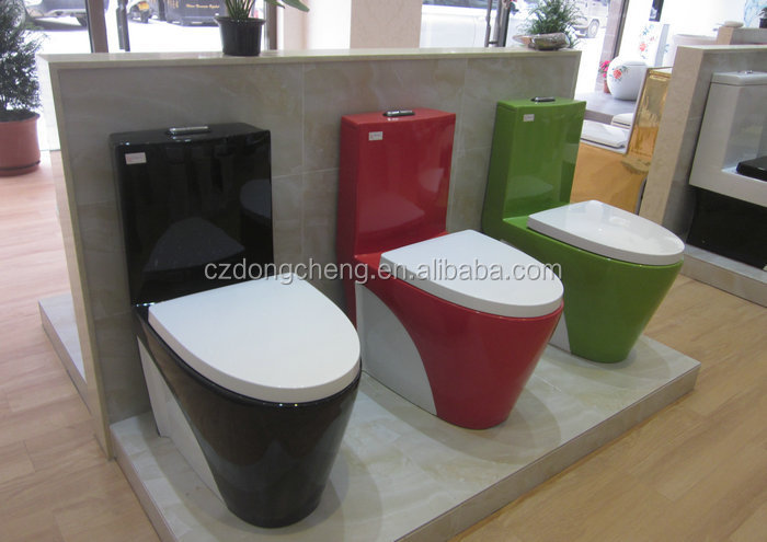 New model washdown colored toilet bathroom ware