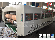 GIGA LX-308N Pizza Box Machines For Packaging E flute cardboard can be used
