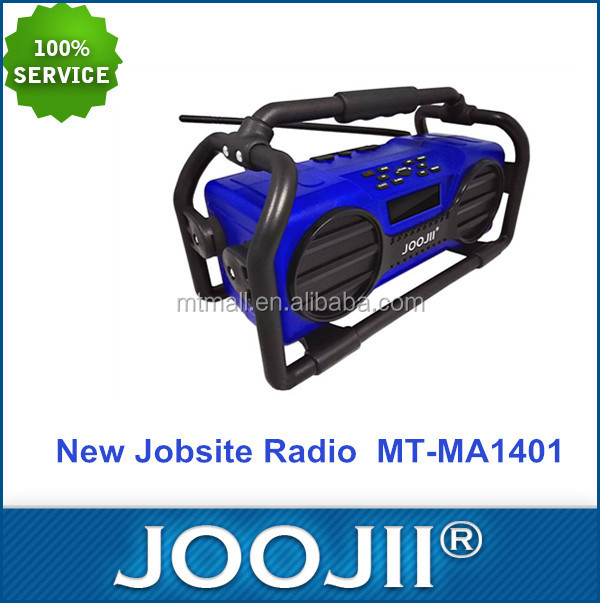 2016 New design Private Tooling Durable Jobsite Radio Portable Waterproof RadioShockproof with USB SD