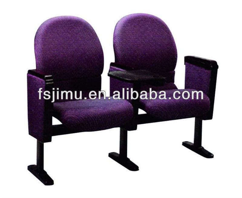 lecture hall chair/folding conference chair/theater auditorium hall chair