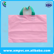 simple EVA soft plastic shopping clothing handle bag