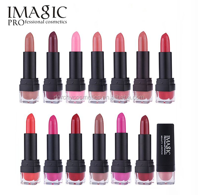 High quality Makeup Cosmetic 12colors matte lipstick wholesale