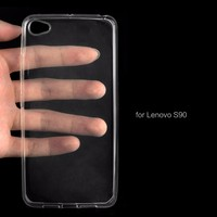 Custom Design Clear Transparent Soft TPU Mobile Phone Case For Lenovo S90