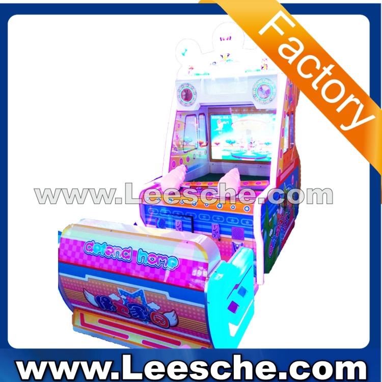 LSJQ-687 factory price video shooting led light coin operated water shooting redemption games