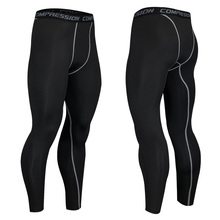 Wholesale High Elastic Compression Base Layer Under Pants Wicking Sports Running Gym Leggings for Men