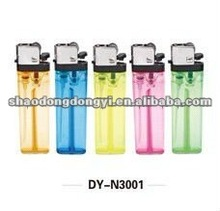 disposable/refillable cigarette gas plastic lighters with LED