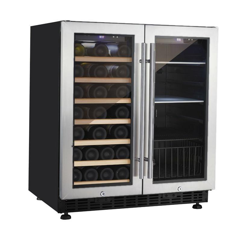 New Household Appliance 66 Bottles Side By Side Mini