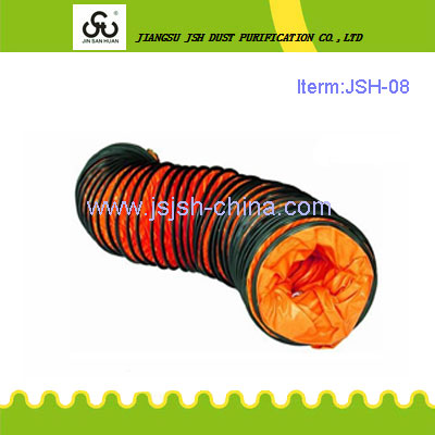 300mm diameter mining PVC plastic ventilation duct