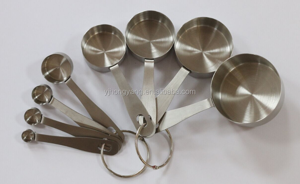 Stainless steel or plastic adjustable measuring cup for kitchenware utensils