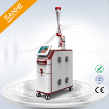 1064 nm and 532nm tattoo removal varicose veins q switched nd yag laser