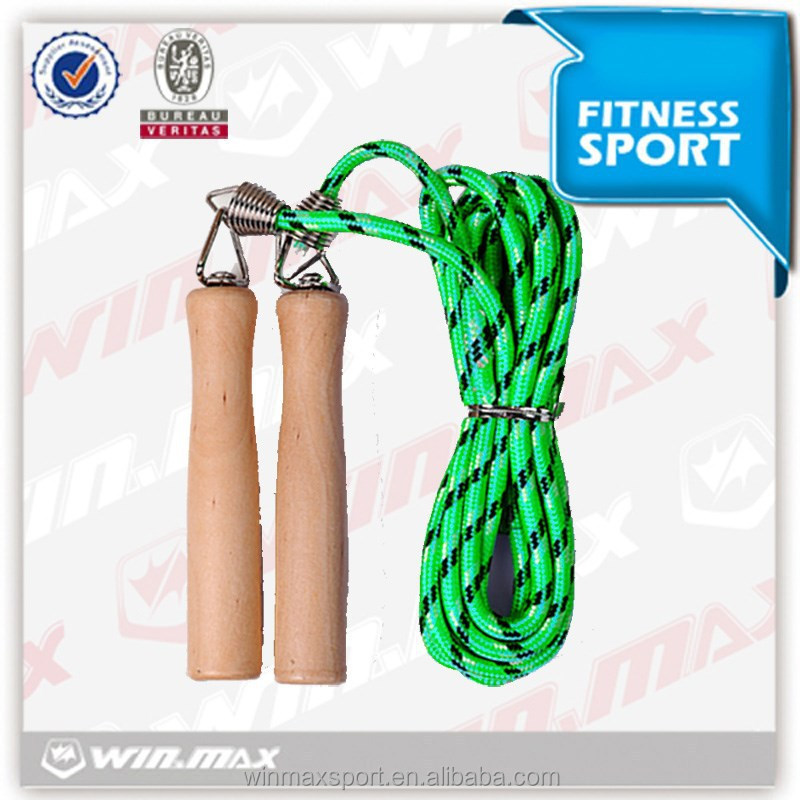 new product for fitness wholesale light wood skipping cross fit jump rope