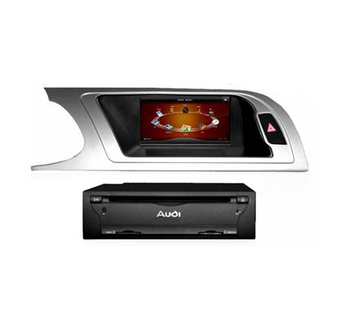Car Touch Sreen Double Din DVD player Navigation for Audi A4L/ A5: VCAN0365