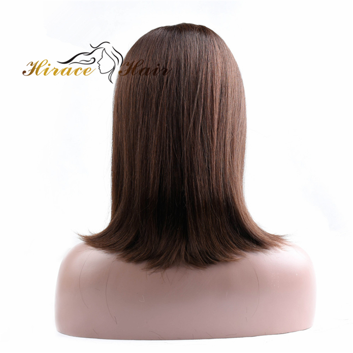 10inch brazilian hair lace front wig virgin remy human hair lace front wig