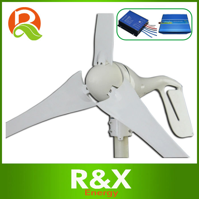 Small wind generator for boat. Combine with wind controller and inverter.