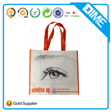 promotional customized cheap non woven large shopper tote bag