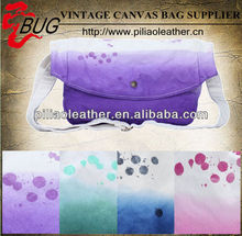 2012 Latest DIP dyeing factory price Canvas Bag ink dye