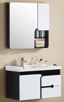 Sanitary ware solid wood bathroom cabinet