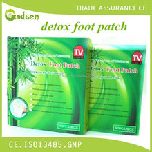 Bamboo detox foot patch /detox foot pads